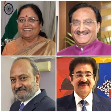 Sandeep Marwah Honoured with National Award by Public Relation Society of India