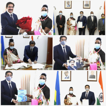 ICMEI Signed MOU With High Commission of Rwanda