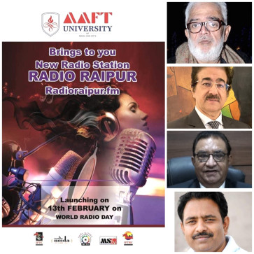 Great Grand Opening of Radio Raipur on World Radio Day