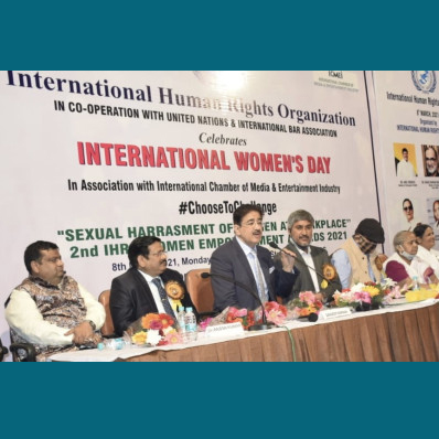 IHRO Celebrated International Women's Day at Marwah Studios