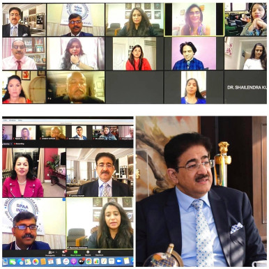 Sandeep Marwah Inaugurated International Summit-Women in Sports