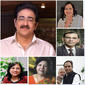 Sandeep Marwah Inaugurated Holi Poetry Session online