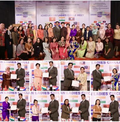 ICMEI Hosted ASEAN Meet at Marwah Studios