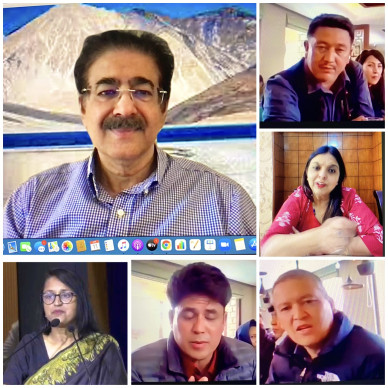 Preparation For Global Tourism Conference at Ladakh Started by ICMEI