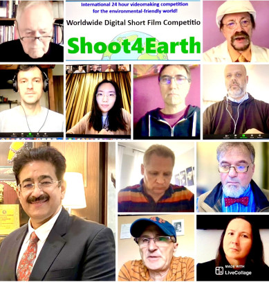 Sandeep Marwah On the Board of Soot4Earth Film Competition Hungary 2021