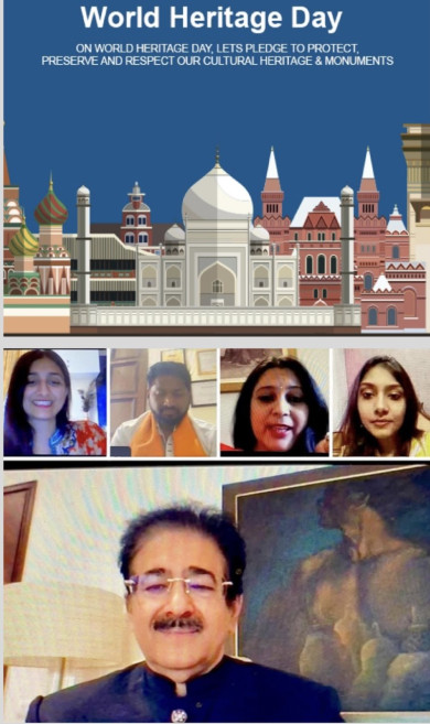 World Heritage Day Celebrated at ICMEI