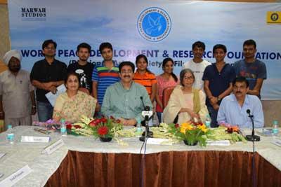 Gandhi Jayanti pre-celebrations at Marwah Studios