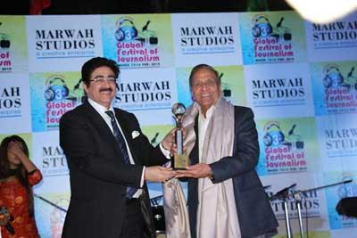 Life Time Achievement Award for Dr B.L. Gaur