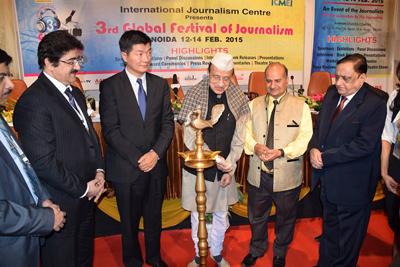 International Participation at 3rd Global Festival of Journalism Noida 2015