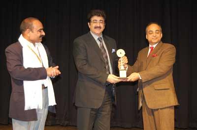 Sandeep Marwah Honored by 3rd Delhi International Film Festival