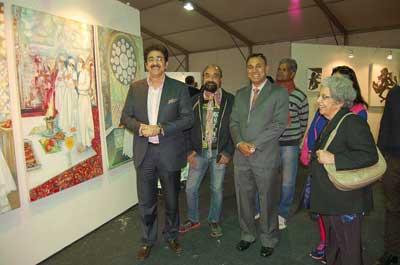 Works of 1000 Artists Inaugurated at Alla Prima Delhi