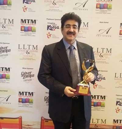 Sandeep Marwah Presented National Media Excellence Awards