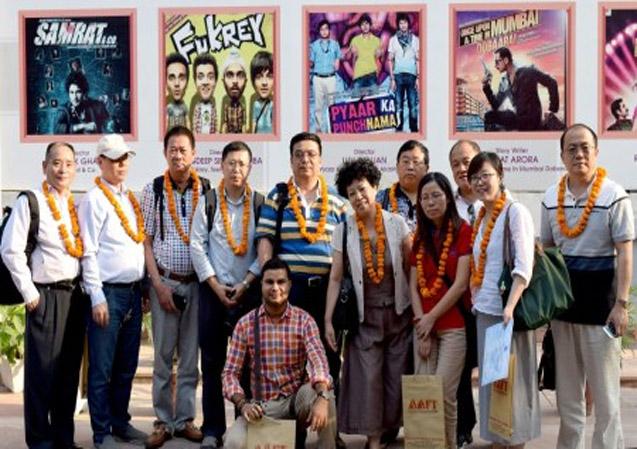 Chinese Delegation at Marwah Studio