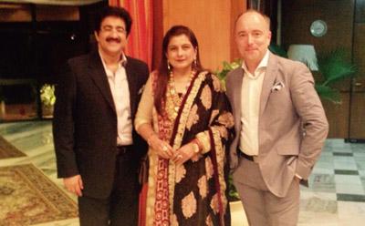 Sandeep Marwah Represented Indo Hungarian Film Association