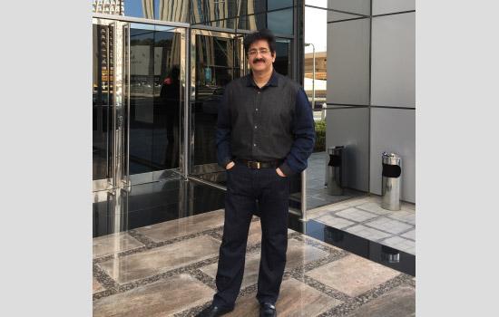 Sandeep Marwah Managing Director NFTC at Dubai Festival