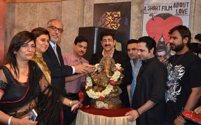 ICMEI Invited Pakistani Musical Group Inteha at Film City