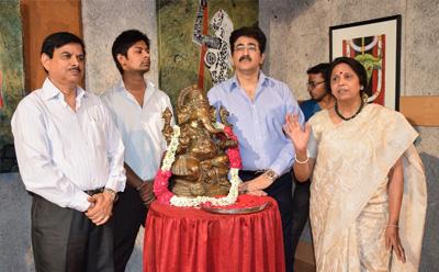 Exhibition of Sculptures by Kusum Jain at AAFT