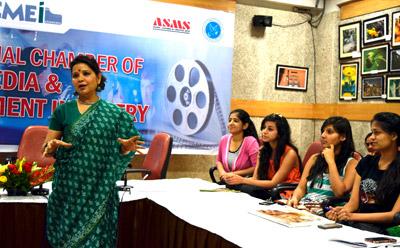 Personality Development Workshop at ASMS by Babita Saxena