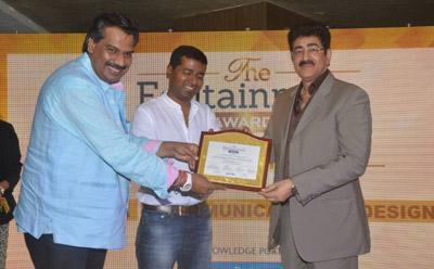 Sandeep Marwah Honored at Edutainment Exhibition