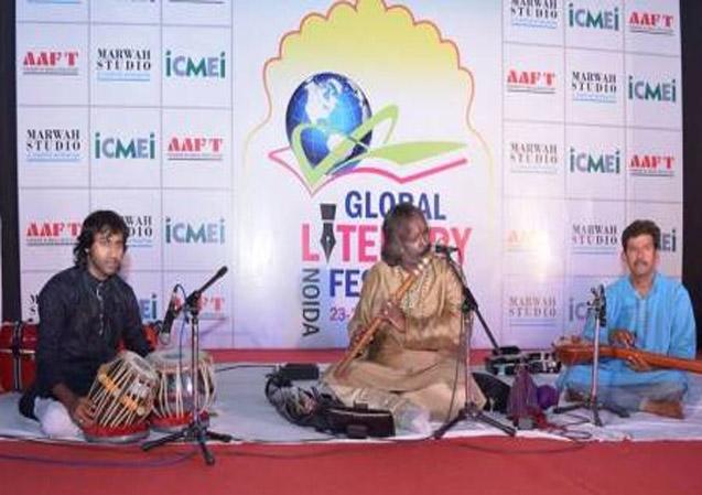Music Recital by Rajendra Prasanna at GLFN