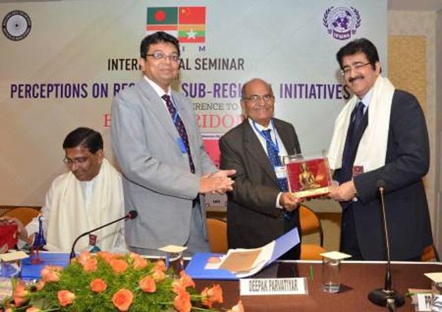 Sandeep Marwah Honored by IFUNA