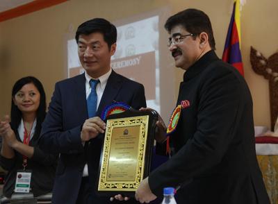 Prime Minister of Tibet Honored Media Baron Sandeep Marwah