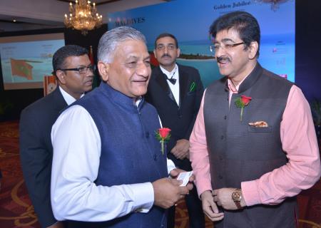 Sandeep Marwah With Gen. V.K. Singh (Retd.)