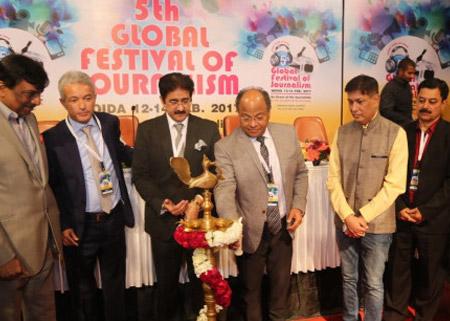 5th Global Festival of Journalism Noida Inaugurated