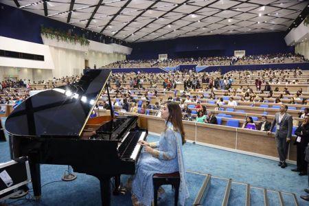 Piano Recital by Gurbani Bhatia at Hindi Cinema Samman Samaroh