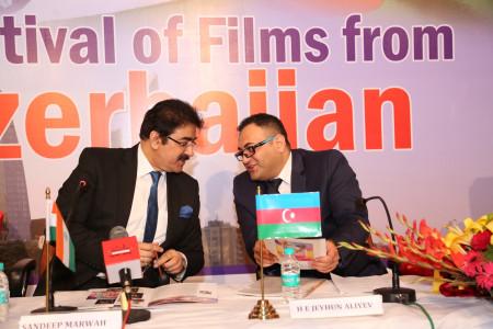 Jeyhum Aliyev Patron to Indo Azerbaijan Film And Cultural Forum
