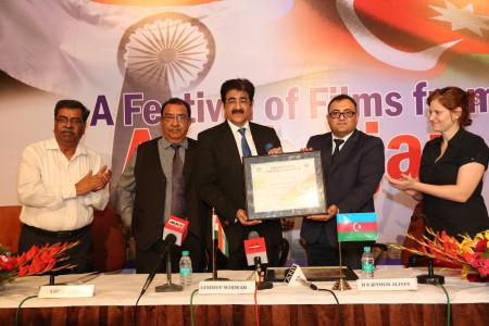 Sandeep Marwah Chair for Indo Azerbaijan Cultural Forum