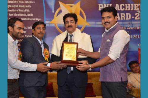 Founder of Noida Film City Honored
