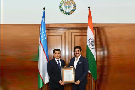 Sandeep Marwah Nominated Chair For Uzbekistan Association