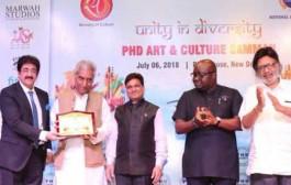 PHD Art And Culture Samman For Prominent Artist