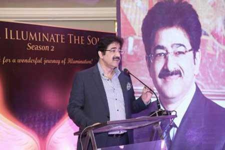 Sandeep Marwah Spoke on Spirituality at Magika Function