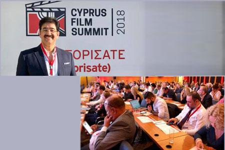 Sandeep Marwah Represented India in Cyprus Film Summit