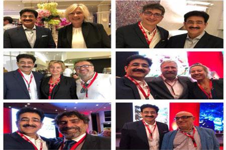 Sandeep Marwah Unfurled The Flag of Indian Cinema at Cyprus