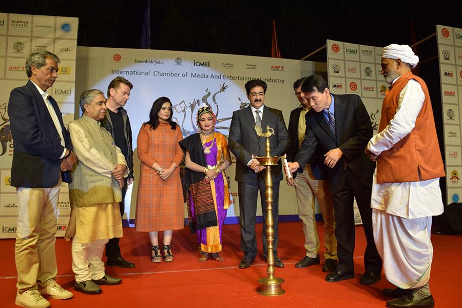Final Day of Delhi International Arts Festival at Marwah Studios