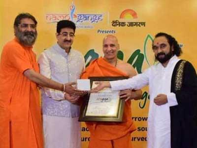Sandeep Marwah Shared His Experience at Namo Gange Expo