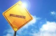 Willingness....