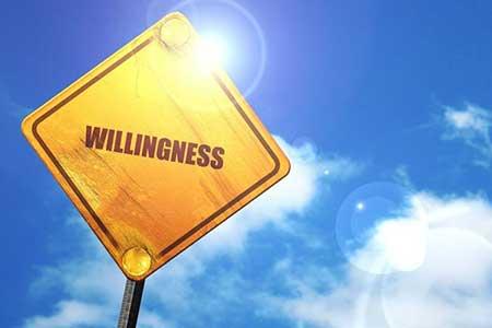 Willingness….
