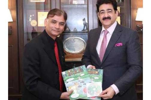 Sandeep Marwah Announced Special Appreciation For AAFTian