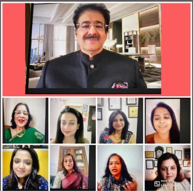 51 Working Women Were Awarded by Sandeep Marwah at Nari Shakti Ko Pranam