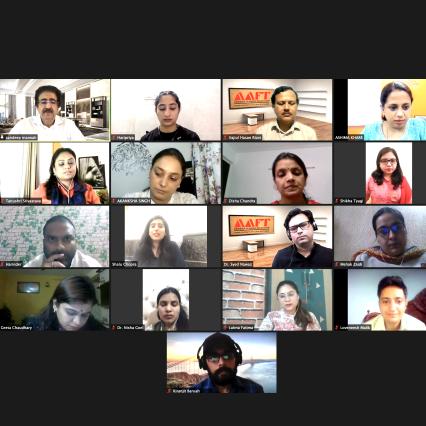 AAFT School of Journalism Is the Best- Sandeep Marwah